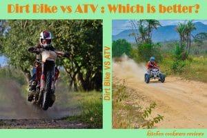 Dirt Bike vs ATV